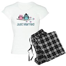 Just Married Owls Pajamas