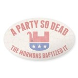 RIP GOP Decal