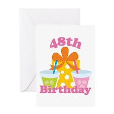 48th Birthday Celebration Greeting Card
