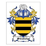 Strabolgi Coat of Arms Small Poster