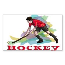 Hockey player Decal