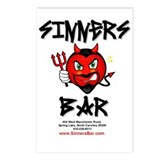 Sinners Bar Postcards (Package of 8)