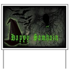 Happy Samhain Yard Sign