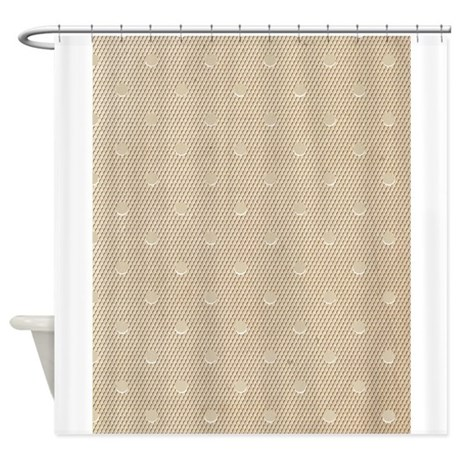 Vintage Ivory Lace Shower Curtain By Printedlittletreasures