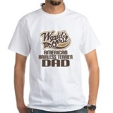 American Hairless Terrier Dad Shirt