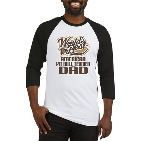 American Pitbull Terrier Dad Baseball Jersey