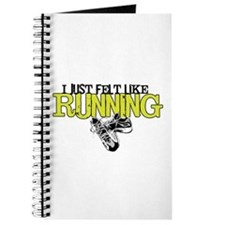 Felt Like Running Journal