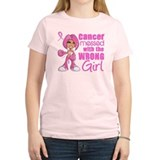 Messed With Wrong Girl Breast Cancer T-Shirt