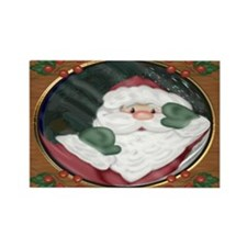 Santa Peeking In Window Magnets (10 pack)