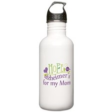 Hope For Alzheimers For My Mom Water Bottle