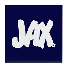 JAX Brushed Tile Coaster