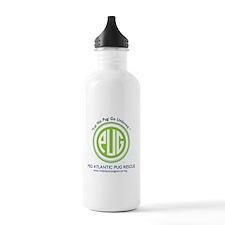 Let No Pug Go Unloved 2 Water Bottle