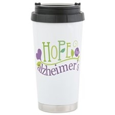 Hope For Alzheimer's Disease Ceramic Travel Mug