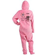 2-gas world.png Footed Pajamas