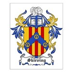 Skirving Coat of Arms Small Poster