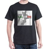 Proud to be Calabrese Ash Grey T-Shirt T-Shirt