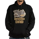Briard Dad Dog Gift Hoody
