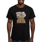 Cardigan Welsh Corgi Dad Men's Fitted T-Shirt (dar