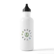 Nonbeliever Sports Water Bottle