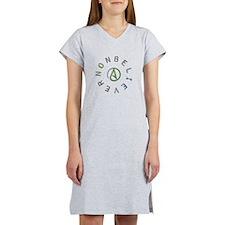 Nonbeliever Women's Nightshirt