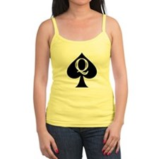 Q of Spades Tank Top