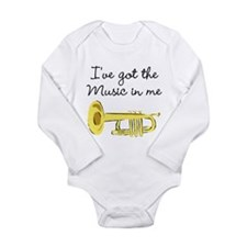 TRUMPET PLAYER Long Sleeve Infant Bodysuit