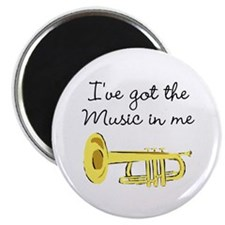 "TRUMPET PLAYER 2.25"" Magnet (10 pack)"