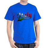 Italy Metallic Color T-Shirt