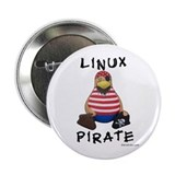 "Linux Pirate 2.25"" Button (100 pack)"