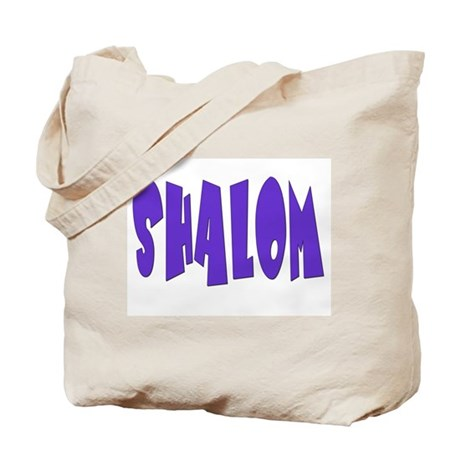 Hebrew Shalom Tote Bag