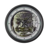 Bayon Buddha Clock Large Wall Clock