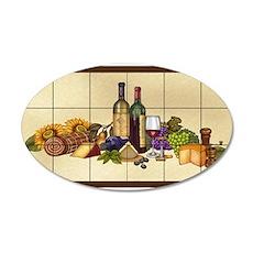 Best Seller Grape 35x21 Oval Wall Decal