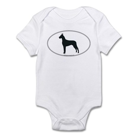 Great Dane Silhouette Infant Creeper