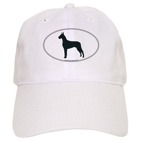 Great Dane Silhouette Cap