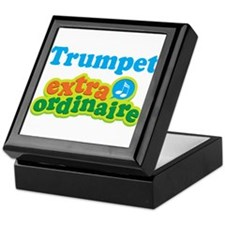 Trumpet Extraordinaire Keepsake Box
