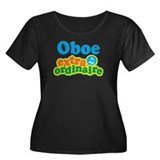 Oboe Extraordinaire Women's Plus Size Scoop Neck D