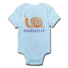 Snailed It Infant Bodysuit