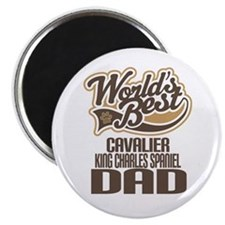 Cavalier King Charles Spaniel Dad Magnet