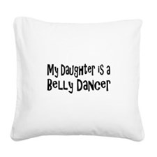 belly23.png Square Canvas Pillow