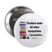 """Teacher Occupations"" 2.25"" Button (10 pack)"