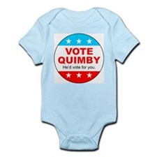 Vote Quimby Infant Bodysuit