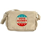 Vote Quimby Messenger Bag