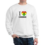 [b]I love Ghana[/b] Sweatshirt
