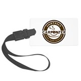 Instant Carpenter Coffee Large Luggage Tag