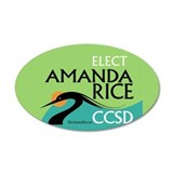 Elect Amanda Rice Wall Decal