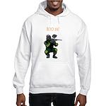 BOO YA Paintballer Hooded Sweatshirt