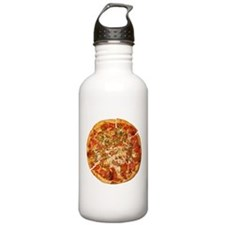 Thank God for Pizza Water Bottle