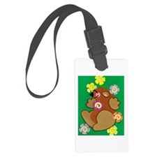 Happy Groundhog Luggage Tag