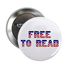 """Free to Read 2.25"""" Button"""