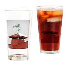 Colony Barn Weathervane Drinking Glass